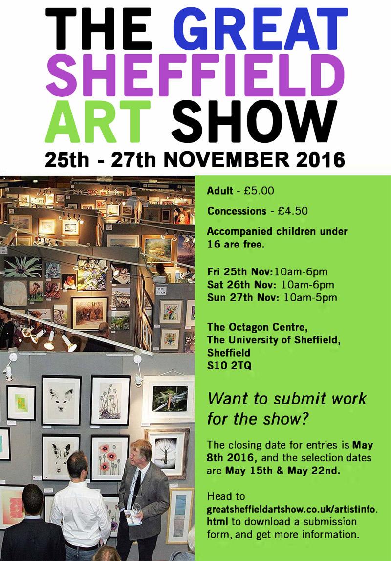 Great Sheffield Art Show 2016
