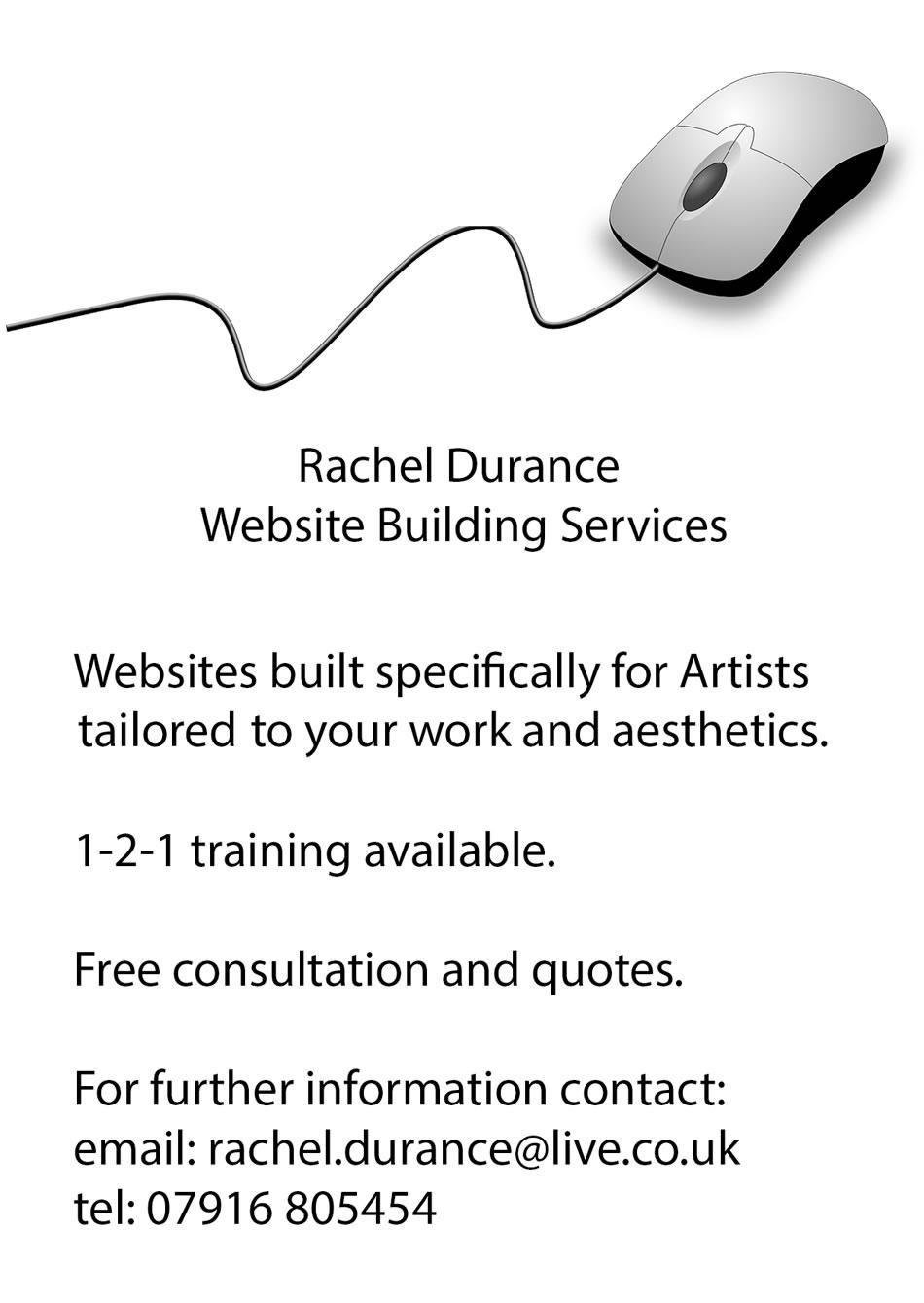 Rachel Durance Web Building Services